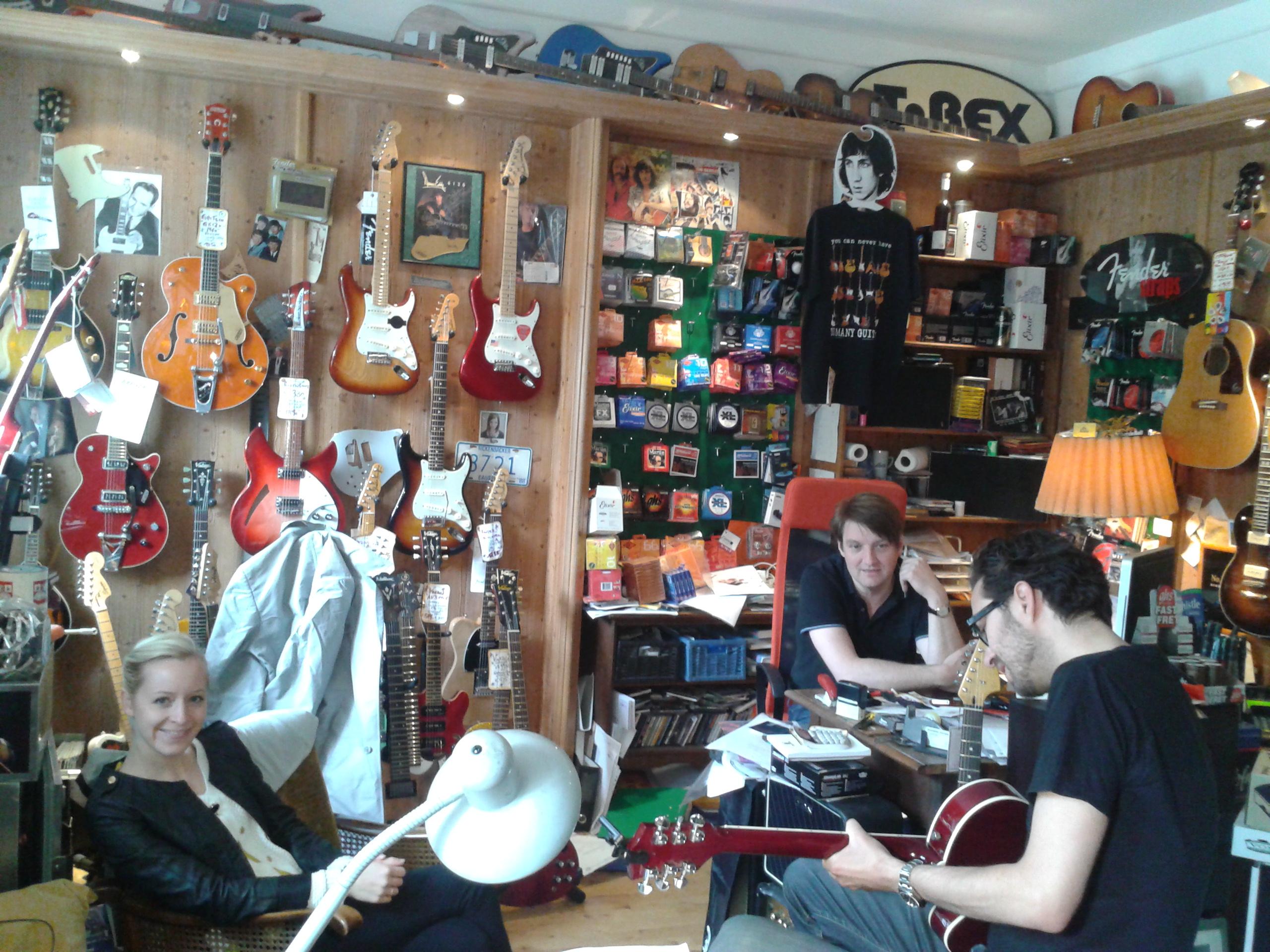 Inside Riverside Guitars